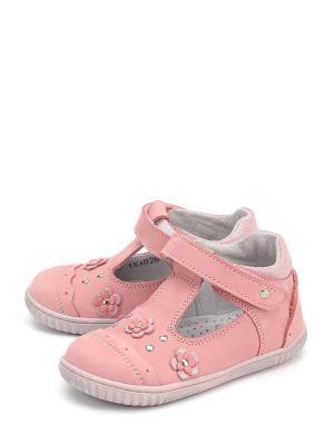 Туфли PAVLE. Цвет: розовый