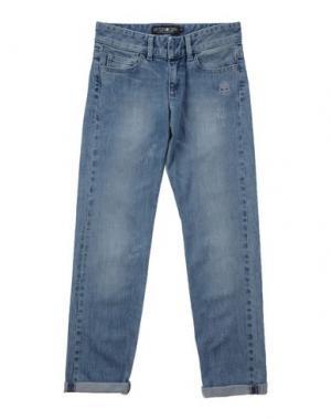 Джинсовые брюки HYDROGEN. Цвет: синий