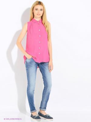 Блуза Rosa&Friends. Цвет: малиновый