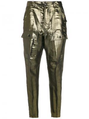 Lamé trousers Reinaldo Lourenço. Цвет: none