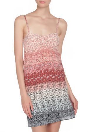 Платье LIU-JO. Цвет: коричневый, синий