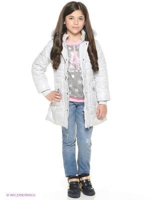 Пальто SAIMA. Цвет: серый