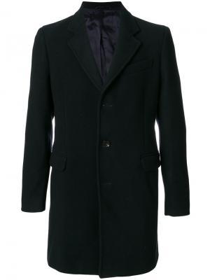 Однобортное пальто Dondup. Цвет: синий