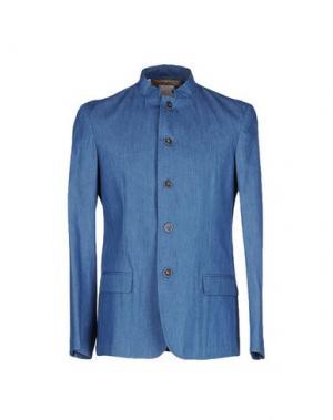 Пиджак 26.7 TWENTYSIXSEVEN. Цвет: синий
