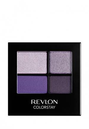 Тени для век Revlon. Цвет: фиолетовый