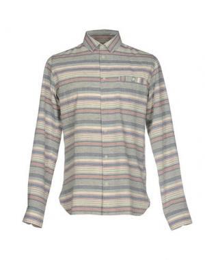 Pубашка WHISTLES. Цвет: серый