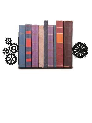 Декоративная подставка-ограничитель для книг Механизм Magic Home. Цвет: черный