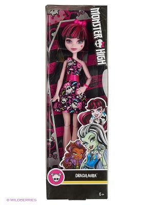 Кукла Дракулаура Monster High. Цвет: черный, фиолетовый