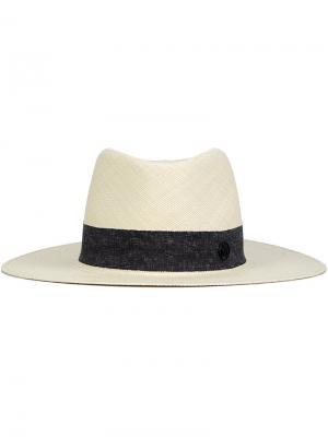 Соломенная шляпа Charles Maison Michel. Цвет: телесный