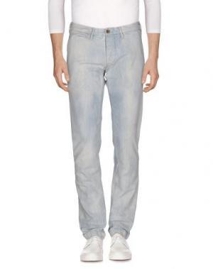 Джинсовые брюки ROŸ ROGER'S RUGGED. Цвет: синий