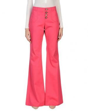 Повседневные брюки INES DE LA FRESSANGE. Цвет: фуксия