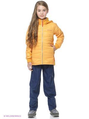 Куртка DIDRIKSONS. Цвет: персиковый