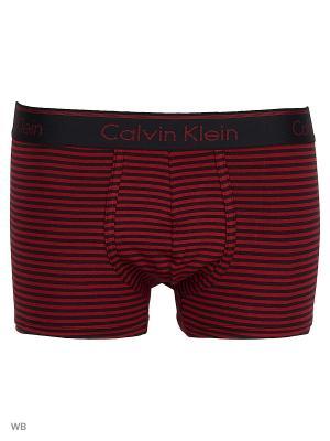 Трусы Calvin Klein. Цвет: бордовый, черный