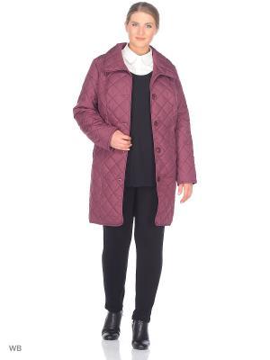 Пальто Batell. Цвет: бордовый