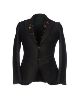 Пиджак MAURIZIO MIRI. Цвет: темно-зеленый