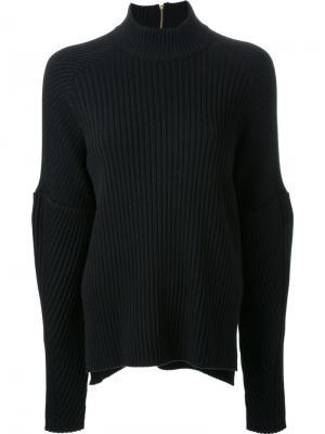 Ribbed jumper Muveil. Цвет: чёрный