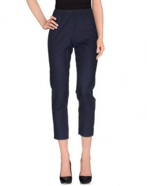 Повседневные брюки CORINNA CAON. Цвет: темно-синий