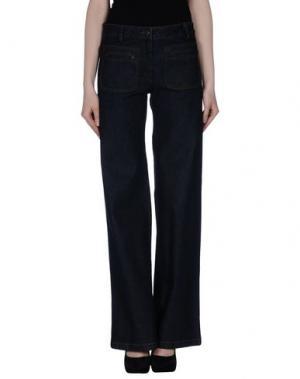 Джинсовые брюки GATTINONI. Цвет: синий