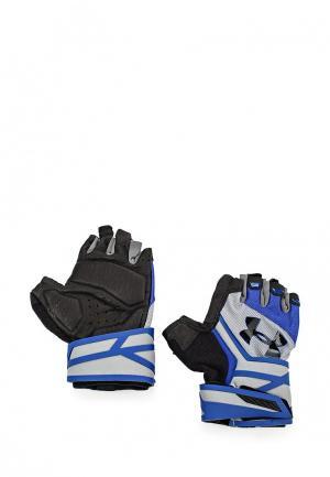 Перчатки для фитнеса Under Armour. Цвет: разноцветный
