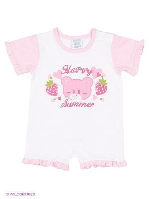 Песочник Cutie Bear. Цвет: бледно-розовый, белый