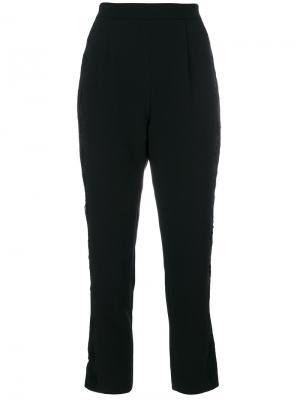 Укороченные брюки Pierre Balmain. Цвет: чёрный
