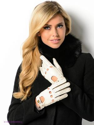 Перчатки Dali Exclusive. Цвет: молочный