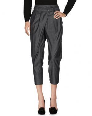 Повседневные брюки THAKOON. Цвет: серый