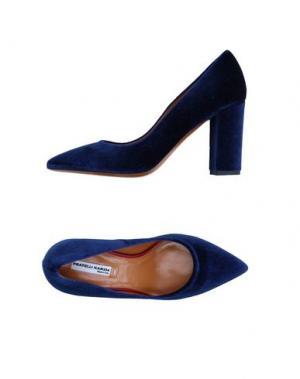 Туфли FRATELLI KARIDA. Цвет: темно-синий