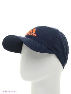 Кепка Adidas. Цвет: темно-синий, оранжевый