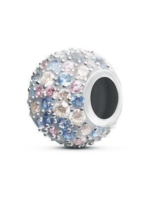 Шарм Монталь BUNNY. Цвет: светло-голубой, бледно-розовый, серебристый