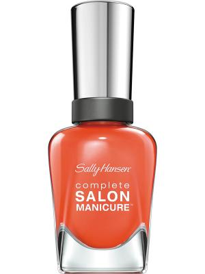 Лак для ногтей тон firey island  545 14,7 мл SALLY HANSEN. Цвет: оранжевый