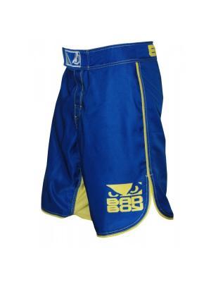 Шорты MMA Blue/Yellow Bad boy. Цвет: синий, желтый