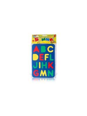 Развивающая игрушка алфавит английский БОМИК. Цвет: синий, зеленый, красный