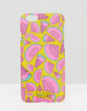 Boom Things Чехол для iPhone 6/6S Watermelon. Цвет: мульти