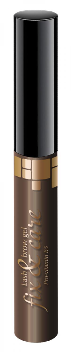 Гель для бровей Art-Visage Темно-коричневый. Цвет: темно-коричневый