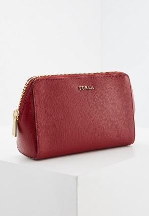 Косметичка Furla. Цвет: бордовый