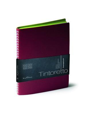 Еженедельник, Tintoretto, В5 Bruno Visconti. Цвет: бордовый