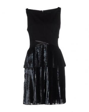 Короткое платье OHNE TITEL. Цвет: черный