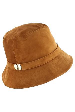 Шляпа Eugenia Kim. Цвет: оранжевый