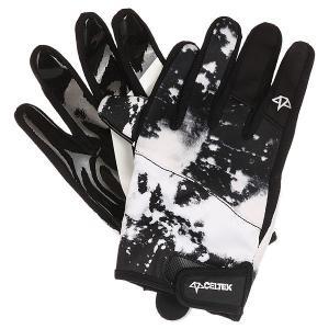 Перчатки сноубордические  Misty Glove Acid Wash Celtek. Цвет: черный,белый
