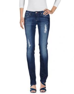 Джинсовые брюки WILLIAMS WILSON. Цвет: синий