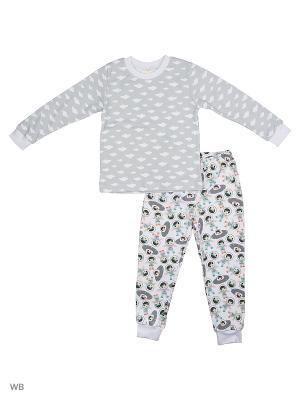 Пижама Baby Boom. Цвет: серый