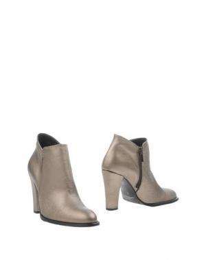 Полусапоги и высокие ботинки BOURNE. Цвет: бронзовый