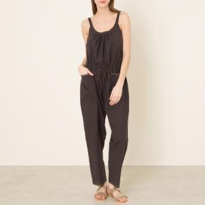 Комбинезон с брюками BRESIL SOEUR. Цвет: черный