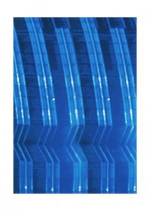 Комплект штор 2 шт. ТомДом. Цвет: синий