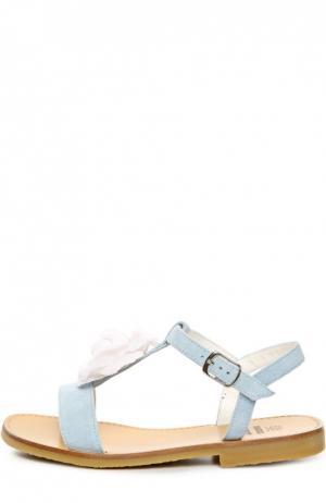 Сандалии Equerry. Цвет: голубой