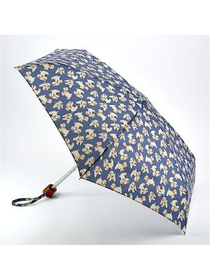 Зонт Механика Fulton. Цвет: голубой