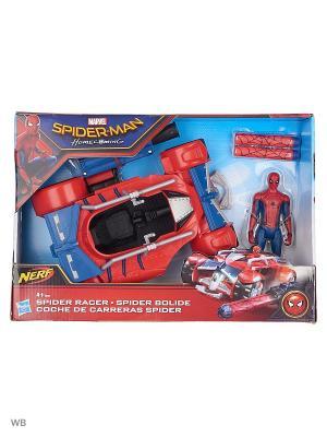 Транспортное средство паутинный город 15 см Spider-Man. Цвет: синий, красный