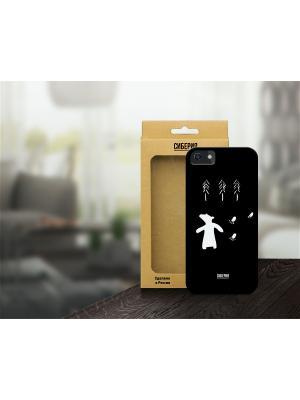 Чехол Мишка косолапый для iPhone 5/5S и 6 Siberia by Sleepy. Цвет: черный