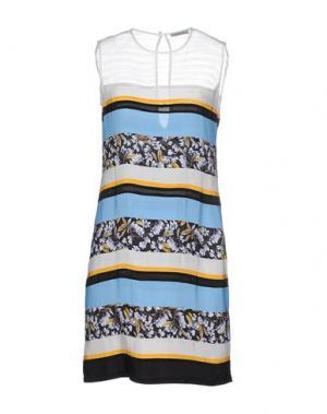 Короткое платье EMMA COOK. Цвет: небесно-голубой